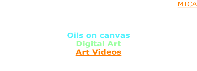 Welcome to my world of art! I am a graduate of MICA  My art falls into three categories:  Oils on canvas Digital Art Art Videos